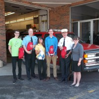 Fire Company receives Pet Oxygen Units