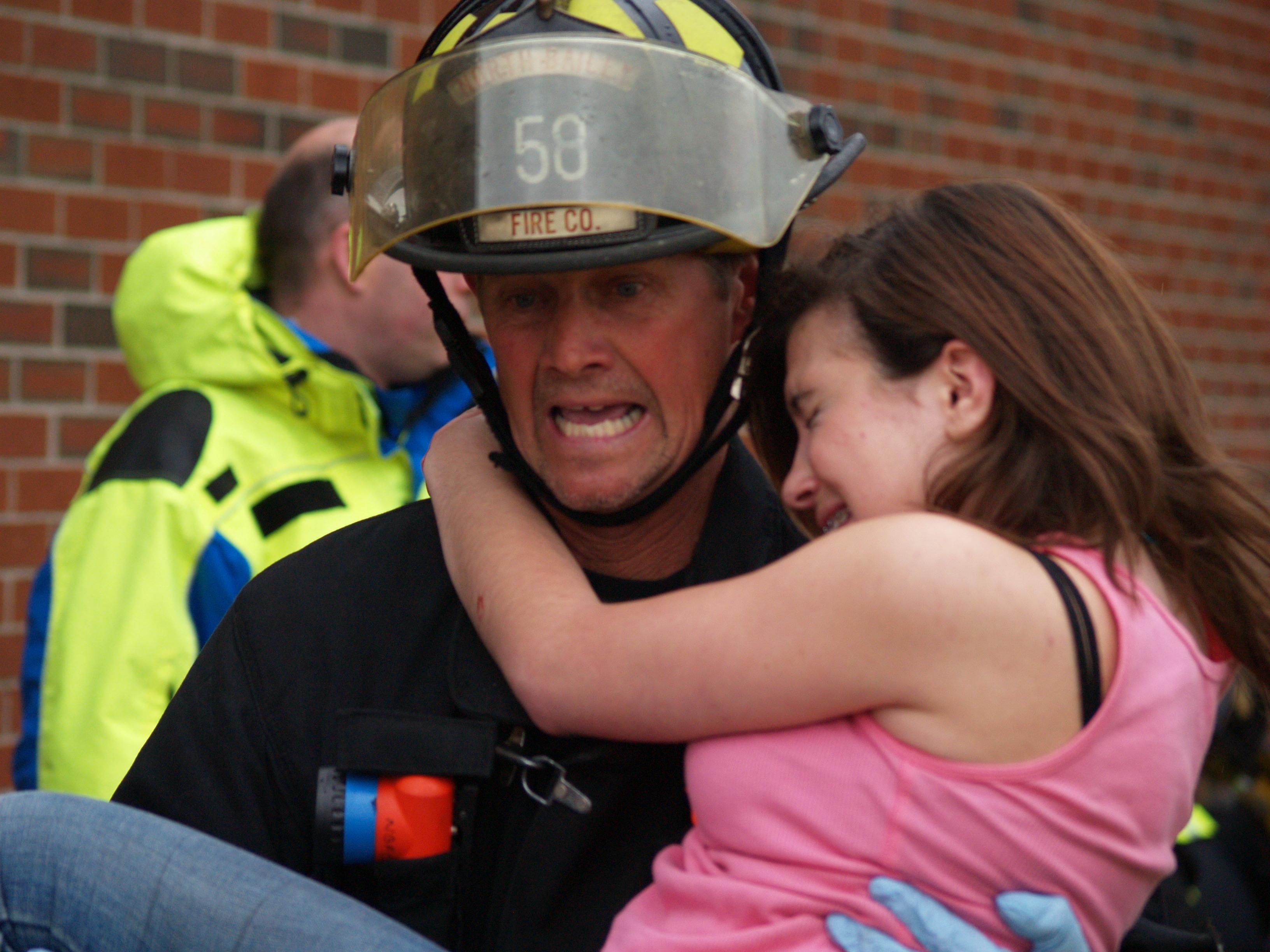 Firefighter Sykes