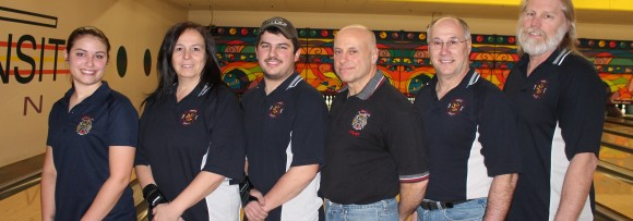 North Bailey Firefighters 1st Place Amherst Firefighters Bowling League
